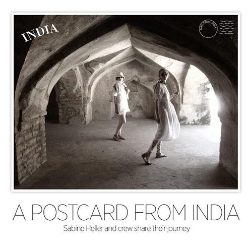 a postcard from india