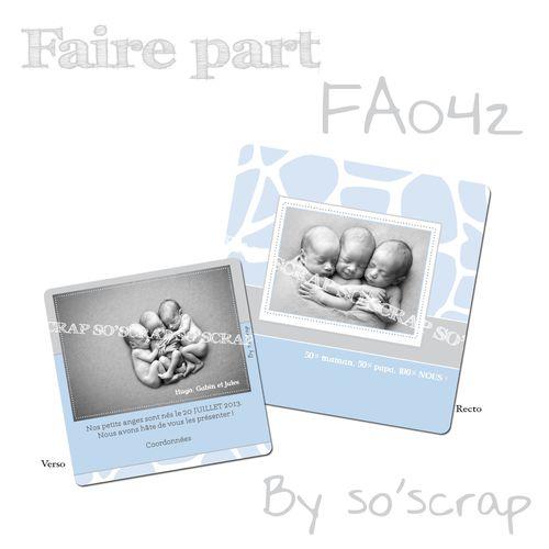 faire-part FA042