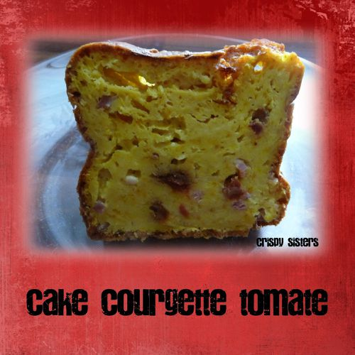 cake courgette tomate