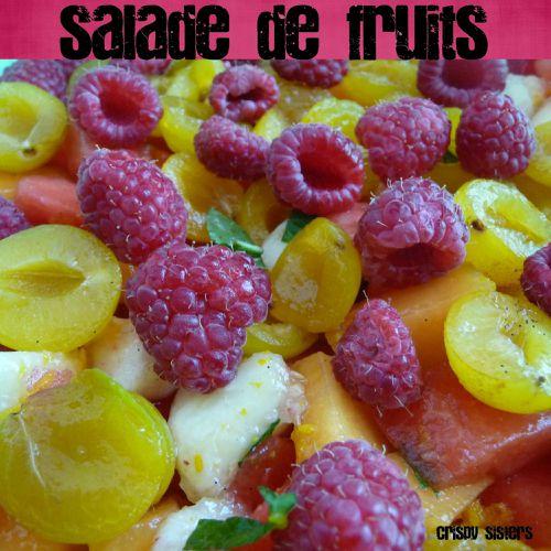 salade de fruits au sirop de vanille le blog des crispy sisters. Black Bedroom Furniture Sets. Home Design Ideas