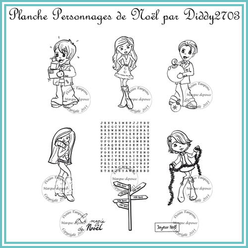planche personnages diddy2703