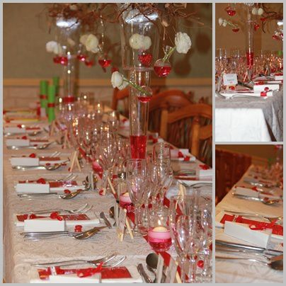 d coration d 39 anniversaire de mariage 35 ans le rubis cuisine d co by maria. Black Bedroom Furniture Sets. Home Design Ideas