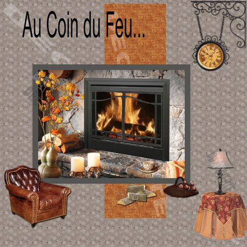 au coin du feu folies cr atives. Black Bedroom Furniture Sets. Home Design Ideas