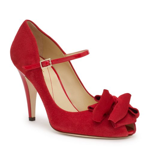 kate spade chaussures rouges mariage