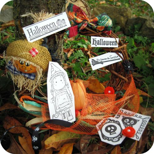 Scrap Inès Carte Card Haloween We R Memory Keeper-copie-1