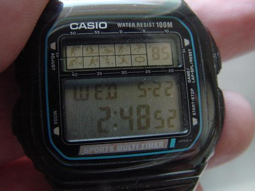 MONTRE WATCH CASIO STW 100 VINTAGE 100M SPORT GAME Le blog  J5iXY
