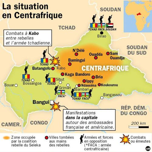situation centrafrique bangui seleka