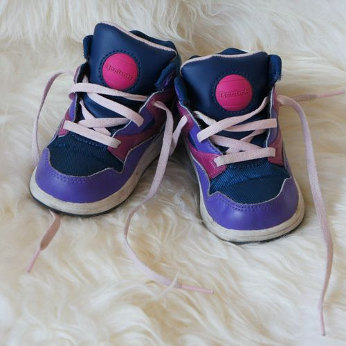 VD - Reebok - baskets mauves 01