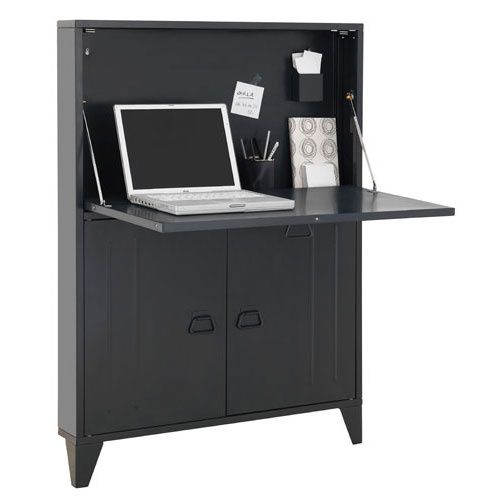un bureau pour portable le blog de deco design pas. Black Bedroom Furniture Sets. Home Design Ideas