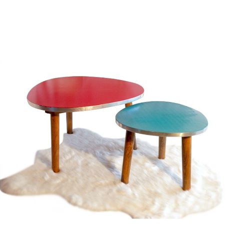 table-basse-rouge