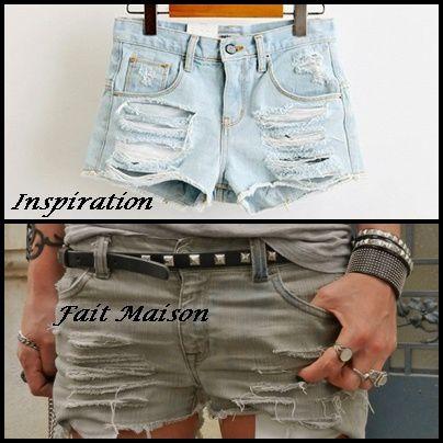 Short Gris , inspiration