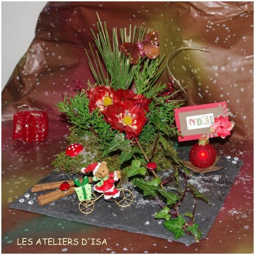 decoration florale noel photos de conception de maison