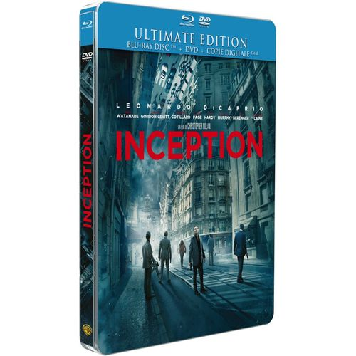 Inception Ultimate Edition Blu Ray + DVD Blu Ray