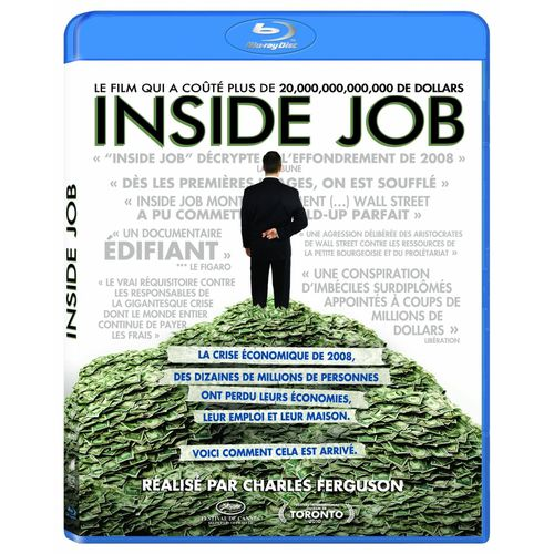 Inside Job Blu Ray