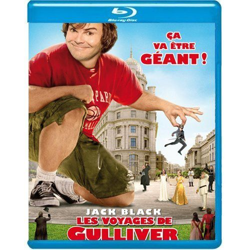 Les Voyages de Gulliver Blu Ray 3D Active + 2 Blu Ray