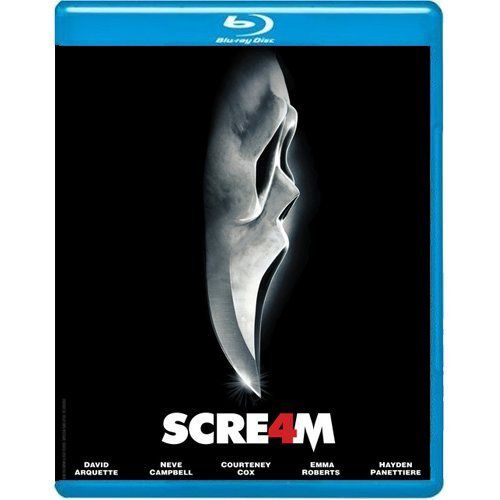 Scream 4 Blu Ray