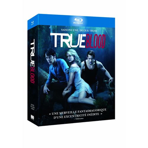 True Blood Saison 1 à 3 Coffret 15 Blu Ray