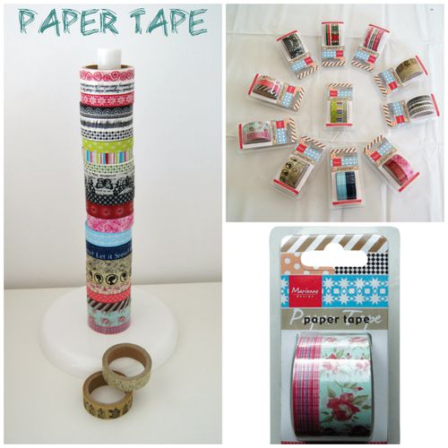 collage paper tape