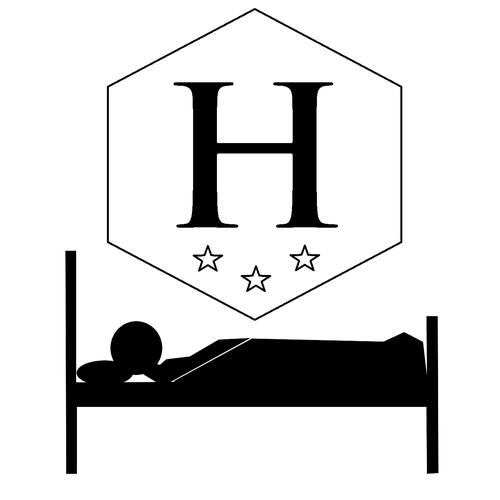 Hôtels, pictogramme, symbol, Saint-Germain-en-Laye 78100