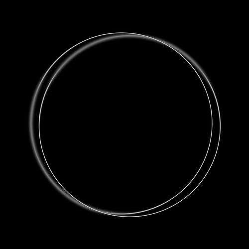 rings, blur, echo, cercles
