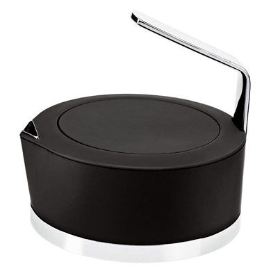 theiere design potter stelton, noir
