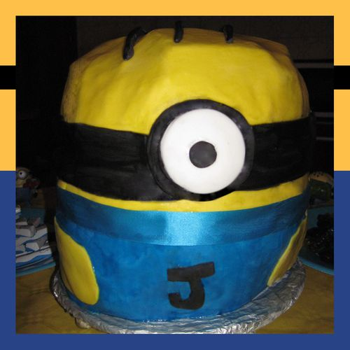 Gateau Minion-2