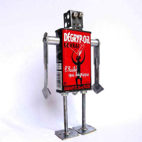 recycled robot degrip oil