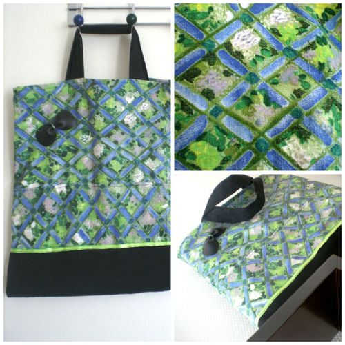 tote bag collage