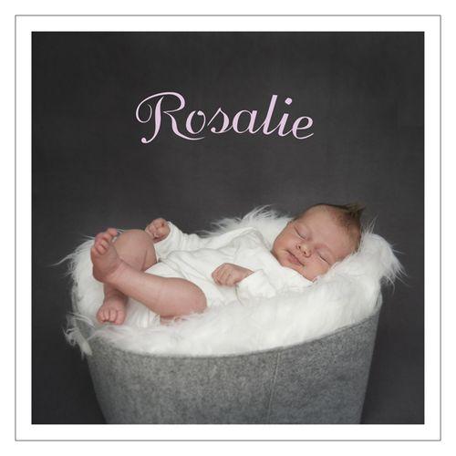 Rosamie3 Quadrat Schrift Rahmen