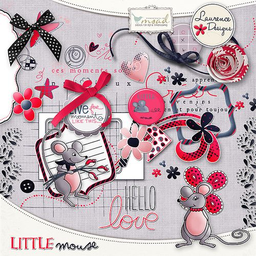 LITTLE MOUSE by Laurence Designs