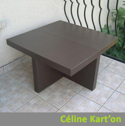 avancement de la table basse et des poufs c line kart 39 on. Black Bedroom Furniture Sets. Home Design Ideas