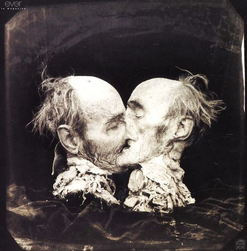 joel peter witkin the-kiss-le-baiser-new-mexico