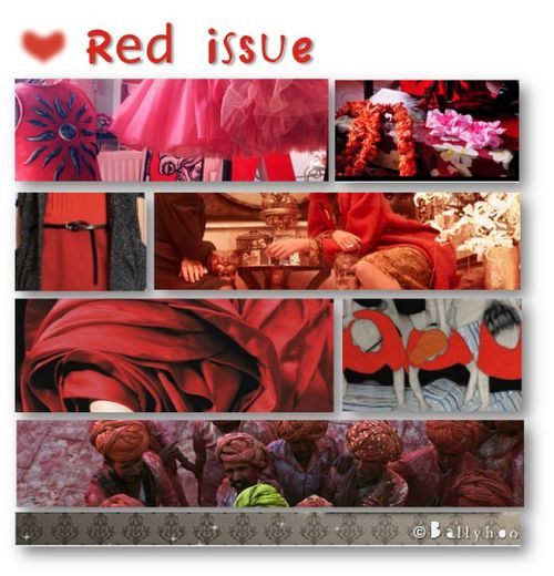 fashion ballyhoo - 1 red issue lookbook inspiration