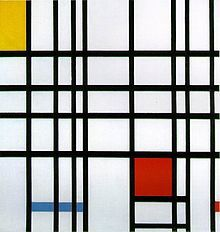 220px-Mondrian Composition with yellow 1937