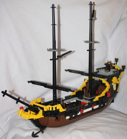 LEGO Pirate 6285 Black Seas Barracuda 15