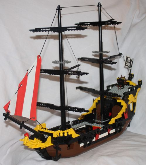 LEGO Pirate 6285 Black Seas Barracuda 16