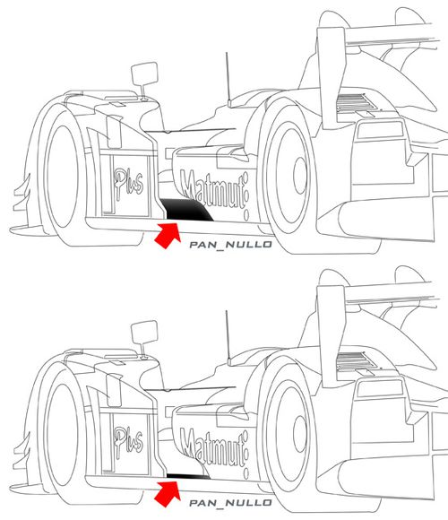Oreca-LC70 side pod AB low