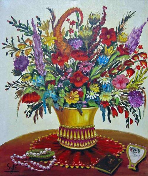 bouquet-de-fleurs--Christia-Sylf--musee-des-comtes-d-Urgel.jpg
