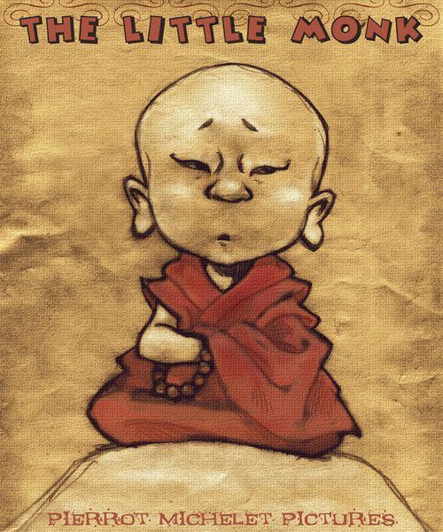 A little monk affiche
