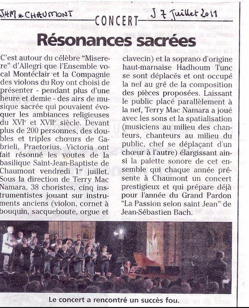 Résonances Chaumont JHM