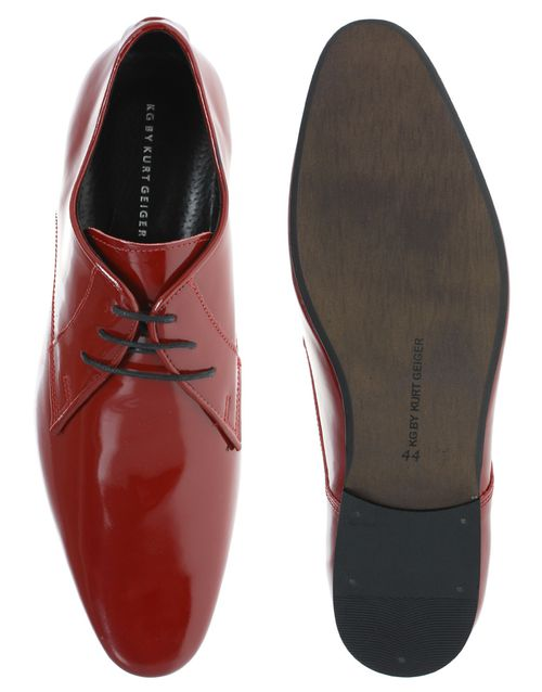 asos chaussures rouges