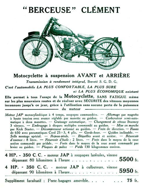 1928 Clément cat 6 838