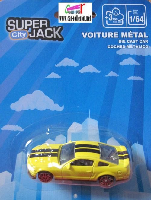 ford shelby gt500 super jack city en blister