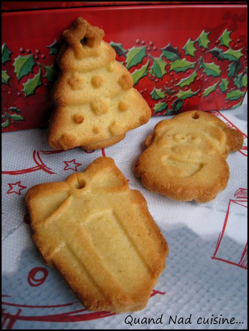 Recette biscuit noel moule silicone