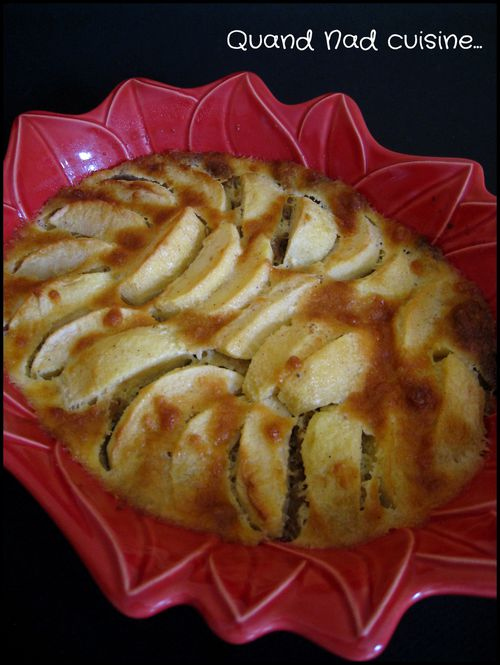 clafoutis pommes spéculoos