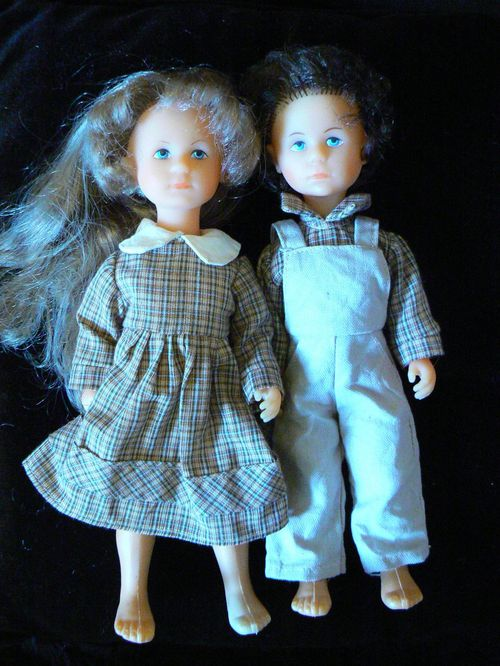 cocotine et yves famille bella 26 cm 1980