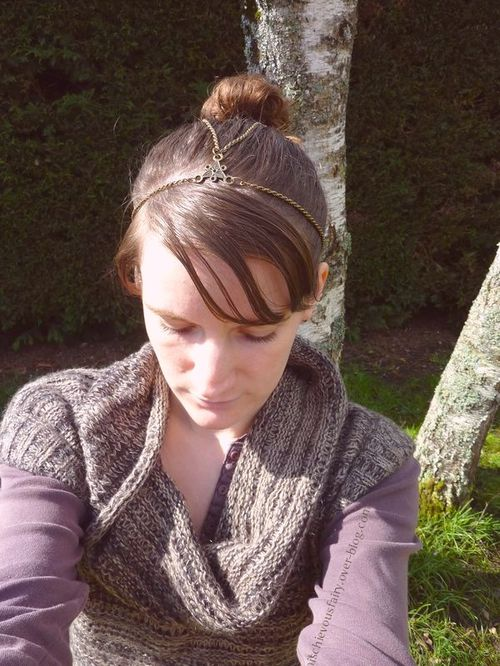 headband bronze antique queue cheval bun5