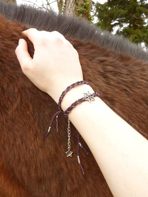 bracelet-double crins-cheval-cordon1