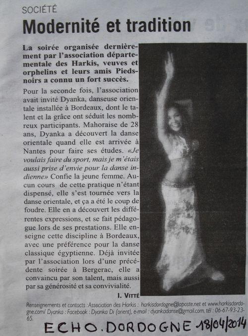 Dyanka Echo Dordogne 18-08-2014