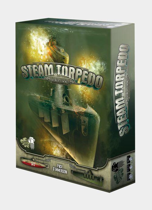 Steam Torpedo boite jeu